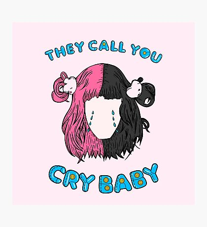 Cry Baby Photographic Print