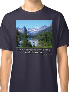 Deer Walking in the Lake Classic T-Shirt