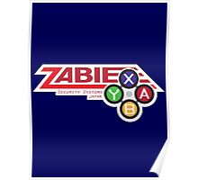 ZABIE Security Systems - JAPAN Poster