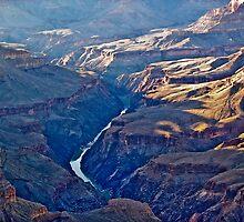 The Colorado at Dusk by ElGordo