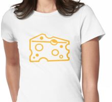 Cheese Womens Fitted T-Shirt