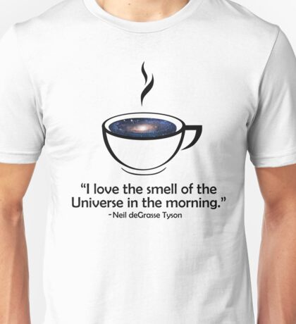 Official Neil deGrasse Tyson - Smell Of The Universe Tee Unisex T-Shirt