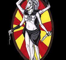 The Horse Goddess by HomicidalHugz