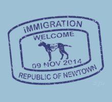 Republic of Newtown - 2014: Blue by Ethel Yarwood