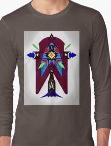 cross Image Long Sleeve T-Shirt