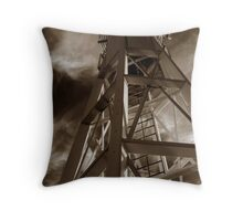 Lighthouse moods Throw Pillow