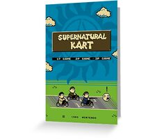 Supernatural Kart Greeting Card