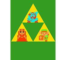 Triforce - The Legend Of Zelda Photographic Print
