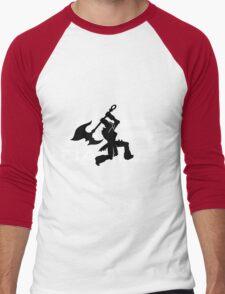 Get Dunked Men's Baseball ¾ T-Shirt