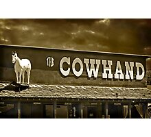 'Cowhand' Colorado. Photographic Print