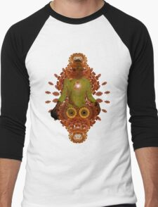 meditadelic Men's Baseball ¾ T-Shirt