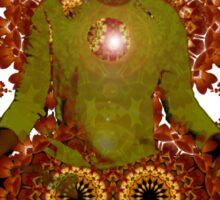 meditadelic Sticker
