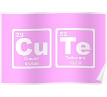 Cute - Periodic Table Poster