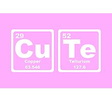 Cute - Periodic Table Photographic Print