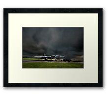 Vulcan XM655 Framed Print