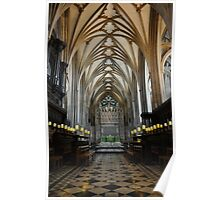 bristol cathedral, england Poster
