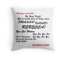 #bandcamp pillow Throw Pillow