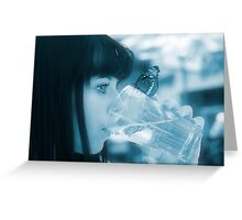 Pure water Greeting Card