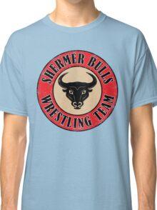 Shermer Bulls Wrestling Team Classic T-Shirt