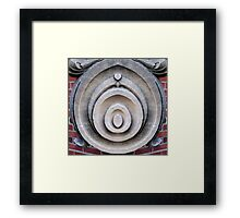 Statue Abstract Framed Print