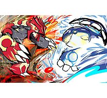 Primal Groudon | Primal Kyogre Photographic Print