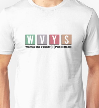 Wamapoke County Public Radio, WVYS - Parks and Recreation Unisex T-Shirt
