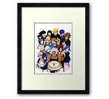 B-Day Bash Framed Print