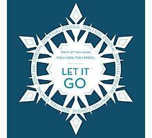 Disney's Frozen - Let it go  Photographic Print