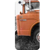 Junkyard fire truck iPhone Case/Skin