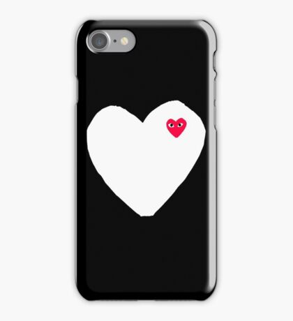 Comme Des Garçons Play iPhone Case/Skin