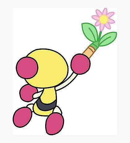 Yellow Bomberman - Super Bomberman R Photographic Print