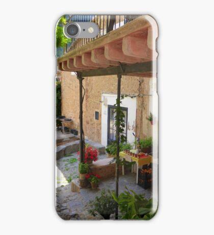 Eating Al Fresco In Deia..........................Majorca iPhone Case/Skin