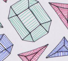 Scattered Gems Sticker