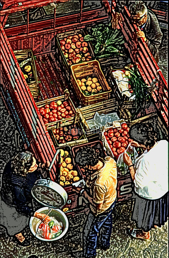 Grecian mobile greengrocer by nitrams