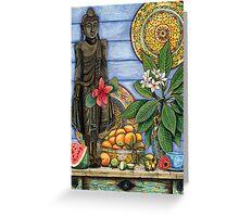 Burmese Buddha Greeting Card