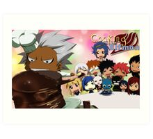 Cooking with Elfman Art Print