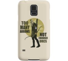 Too Many Arrows - Not Enough Orcs Samsung Galaxy Case/Skin