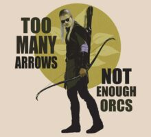 Too Many Arrows - Not Enough Orcs T-Shirt