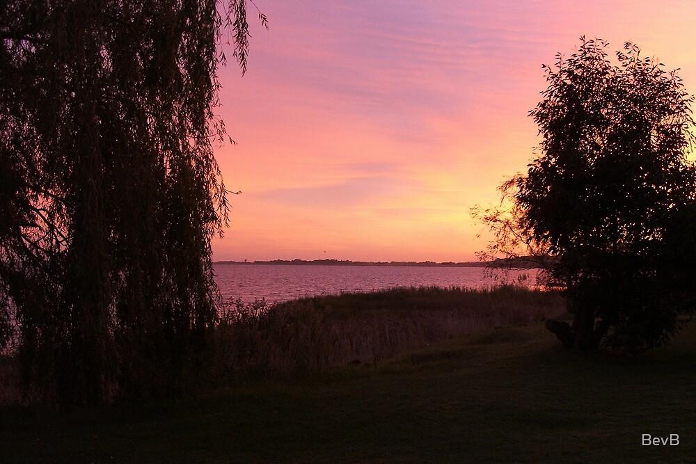 Lake Colac Sunrise by BevB