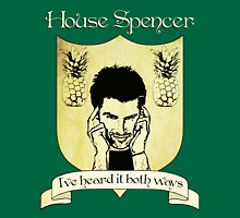 Psych House Spencer Crest  Unisex T-Shirt