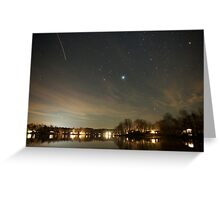 Twilight At Lake Monticello Greeting Card