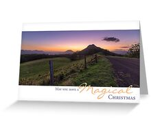 Twilight - Sheepstation Creek, Border Ranges, Australia Greeting Card
