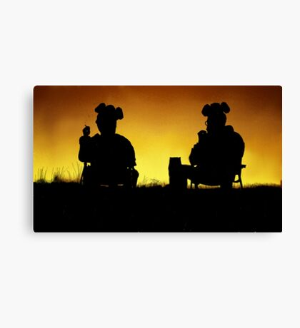 Breaking Bad Sunset Canvas Print