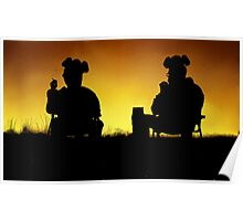 Breaking Bad Sunset Poster