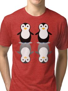 PENGUIN PAIR Tri-blend T-Shirt