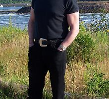 My fiance in Annapolis Royal on Natal Day Weekend 07 1.jpg by Charlie Donna Milne
