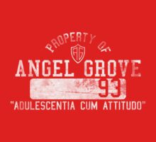 Angel Grove High School Class of 93' T-Shirt by lazerwolfx