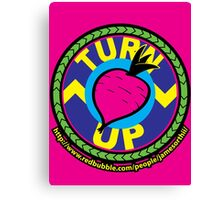 TurnUP - the Eighties! Canvas Print