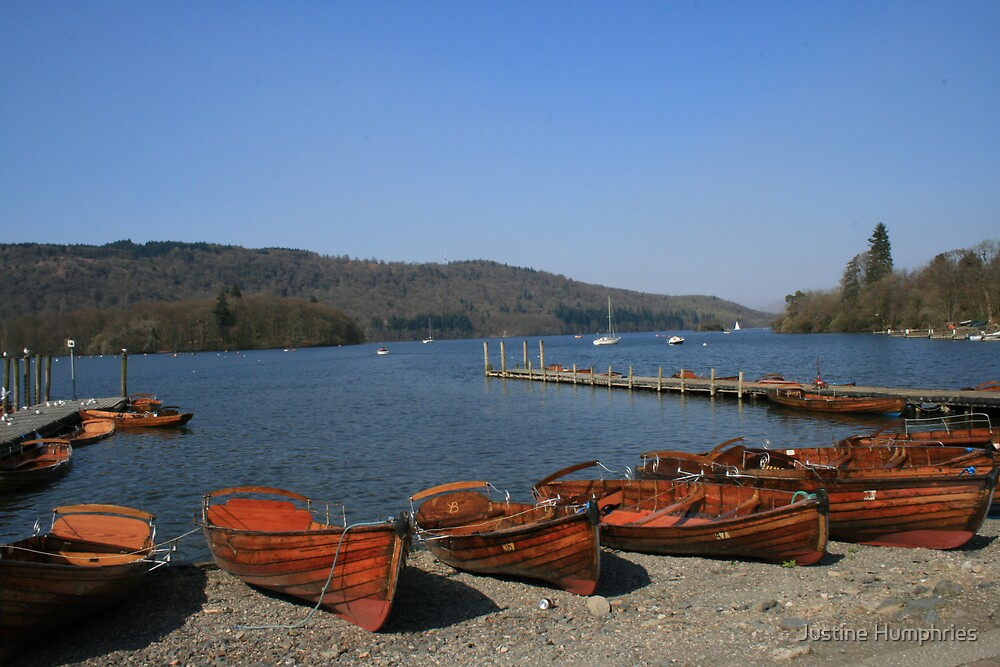 Lake Windermere - Cumbria, England by Justine Humphries