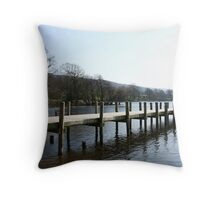 Coniston Waters - Cumbria Throw Pillow
